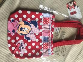 Brand new with tags MINNIE MOUSE bag