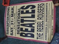 60`s Concert Posters