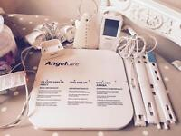Angelcare AC701 digital touchscreen baby monitor and sensor pad