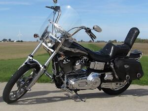 2003 harley-davidson FXDWG Dyna Wide Glide   $7,000 in Options a London Ontario image 2