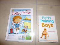 BOYS POTTY TRAINING BOOKS