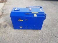 7 Kva electric start silent generator with fuel cube adaptor very low hours