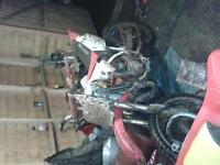 cr80 big wheel very fast bike not for frist time rider