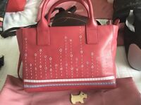 Beautiful leather Radley hand bags