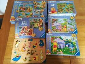 Winnie the Pooh jigsaws