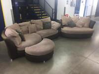 DFS Corner Sofa and Cuddle Chair - Free Delivery!