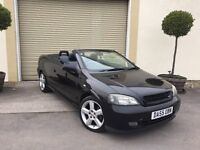 Vauxhall Astra Convertible With Only 65.000 Miles !!