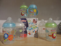 ***Feeding bottles £15 for four bottles***