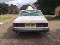 Rolls Royce Silver Spirit 1985 Classic Bentley Mulsanne Retro Daimler Silver Shadow