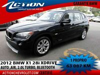 2012 BMW X1 28xi AWD,AUTO,AIR,TURBO,BLUETOOTH