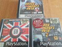 Grand theft auto Ps1 games