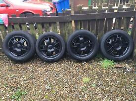"15"" alloys (5x100 stud)"