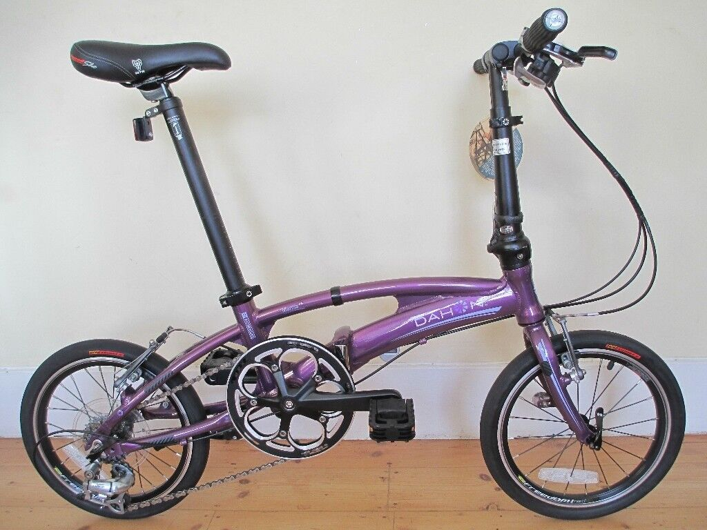 Stunning (New) Dahon Special Edition Lightweight P8 Folding Bike With Accessories