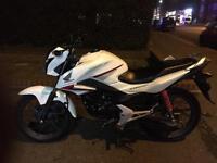 Honda cbf 1252016 White Only 650miles cb125f ,glr