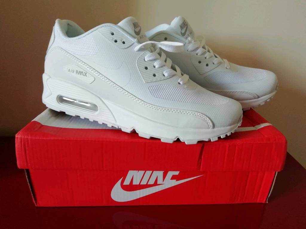 sale retailer f0d8d 7029e Brand New Mens Nike Air Max 90 White UK Size 8 | in Narberth, Pembrokeshire  | Gumtree