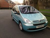 05 plate citreon Picasso 1.6 mot october