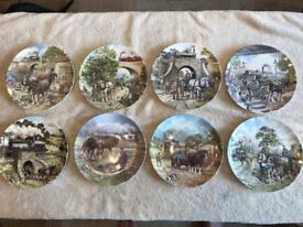 Limited Edition Wedgewood Bone China Plates. John Chapman. '' Country Connections''