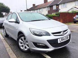 2014 VAUXHALL ASTRA 1.4 DESIGN 5DR,1 OWNER,44000 MILES,VAUXHALL SERVICE HISTORY,NEW MOT & SERVICE.