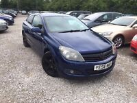 Vauxhall Astra 1.6 i 16v Design Sport Hatch 3dr Petrol Manual. GOOD CONDITION. HPI CLEAR.P/X WELCOME