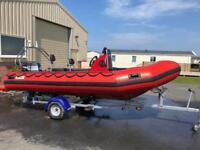 5m RIB boat