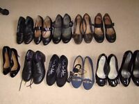 Bundle of woman's shoes all size 4 (eur 37)
