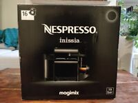 Nespresso Coffee Machine Inissia Black