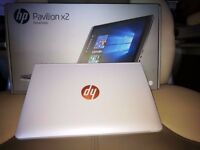 2in1 detachable laptop to tablet HP x2 10.1 inch Inntel Atom 2GB 32GB White