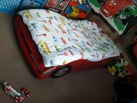 Kids car bed single size