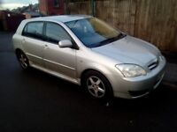 Toyota COROLLA 2.0 deisel d4d sport excellent runner relaible car easy to drive Very cheap to run