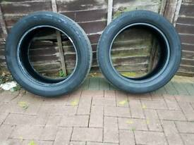 Continental Tyres x2 215/55/17
