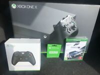 Xbox one x brand new with extras