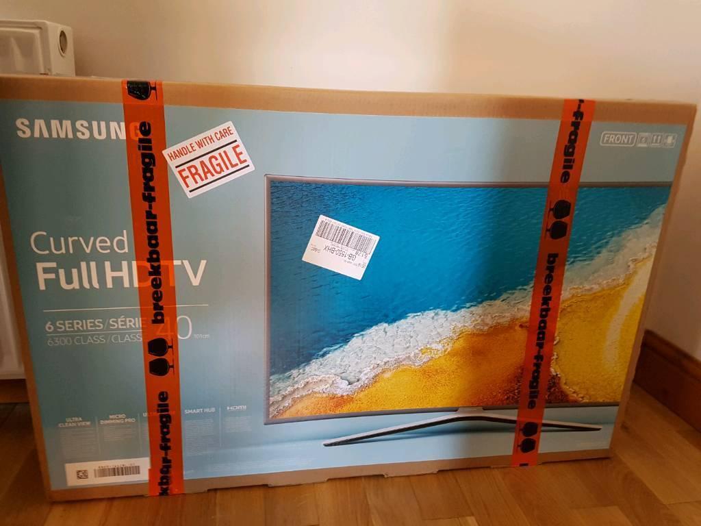 "Samsung Full HD TV 6 series 6300 class Brand new boxed 40"""