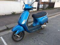 PIAGGIO VESPA LX 50cc blue 2007 excellent runner!!