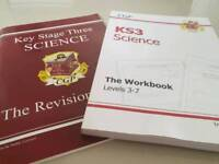 KS3 Science revision guide and workbook