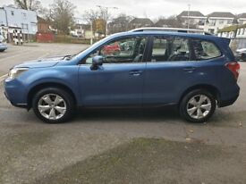 2015 SUBARU FORESTER 2.0 XC, PREMIUM, AUTO, DIESEL, EURO 6. TOP OFF THE RANGE, SAT/NAV, F/LEATHER
