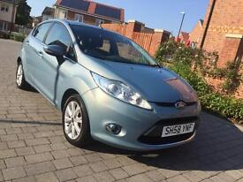 2009 Ford Fiesta 1.25 Zetec fsh 12 months mot *part ex welcome*