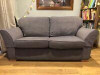 Multiyork 3 seater fabric sofa - mint condition