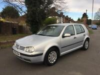 VW GOLF 1.6 SE AUTOMATIC MET SILVER 1 OWNER SINCE NEW DOCTOR PX WELCOME