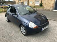 Ford ka LUXURY 56k FULL BLACK LEATHERS **P/X WELCOME**