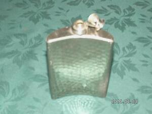 Old Chrome coloured Flask Cornwall Ontario image 2
