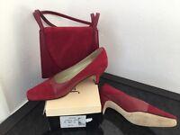 Jacques Vert Shoes and matching Handbag