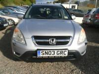 HONDA CR-V 2.0 i-VTEC SE Sport [Sat Nav] 5dr MOT AUGUST 2018 LOVELY CONDITION (silver) 2003