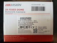 HIKVISION HD IP FIXED DOME CAMERA - MODEL: DS-2CD2142FWD-I 4mm