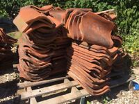 Reclaimed Norfolk pan tiles - 2 types available