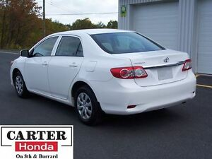 2013 Toyota Corolla CE PLUS! + HEATED SEATS + BLUETOOTH + SUNROO
