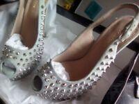 Kurt Geiger designer heels size 5 nearly new.