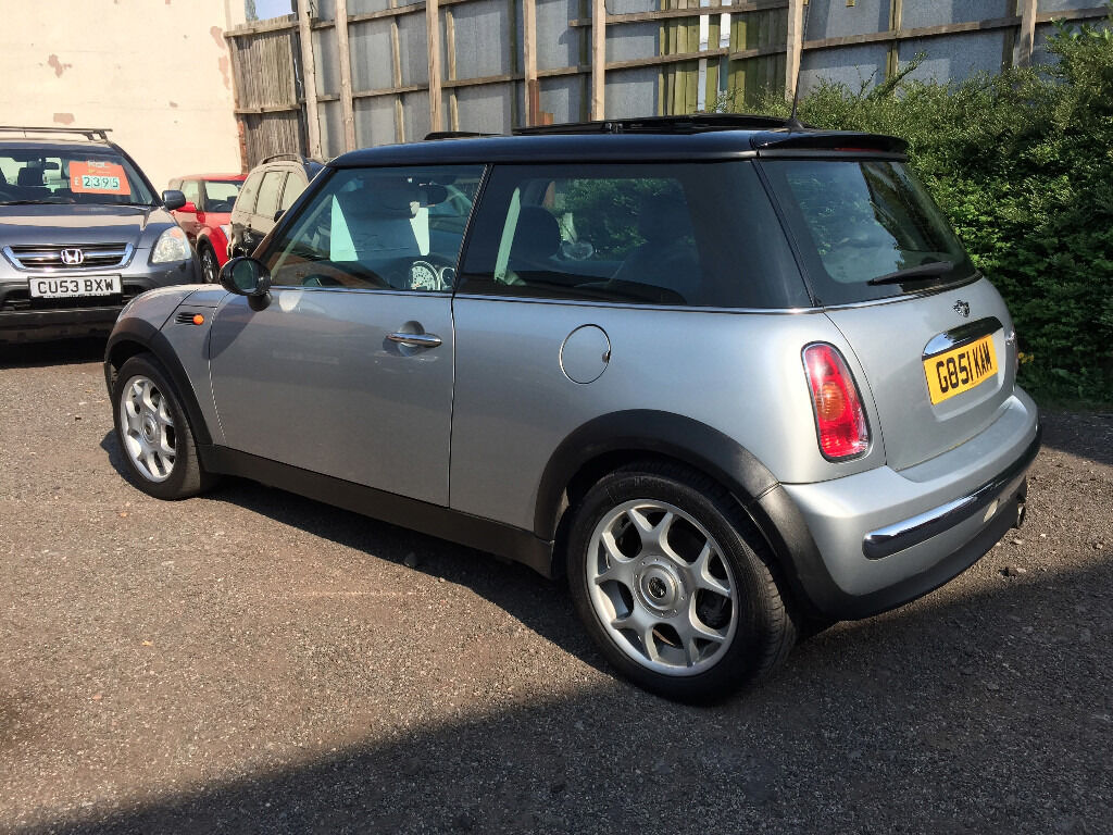 MINI Cooper 1.6 3dr - 2001, Full History, 12 MONTHS MOT, New Clutch, Panoramic Roof, Leathers, £1895