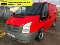 Ford Transit 2.2 260 - 1 Owner From New, Full Service History, 1YR MOT, Warranty, Rear Sensors, 92k