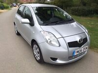 Toyota Yaris 1.3 T3 Multimode 5dr VERY LOW MILES/ONE LADY OWNER