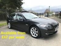 BMW 520D Touring (530d, A4, A6, 320d, Passat, Estate, Avant) £47 per week
